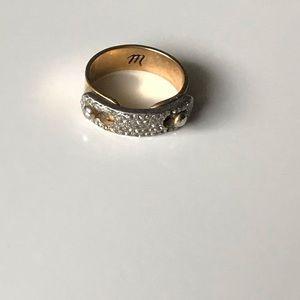 Madewell Pavé Glider Ring
